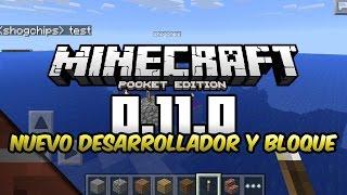 Noticias Minecraft PE 0.11   Nuevo desarrollador y ¿nether?   Shoghi Cervantes