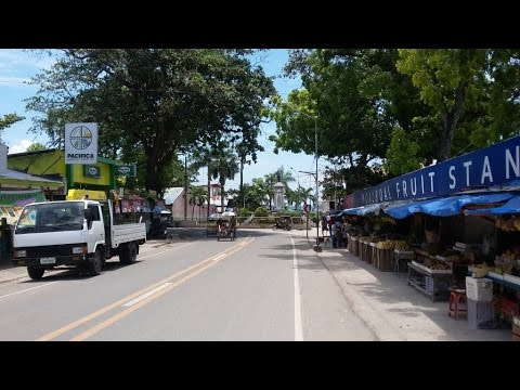 Moalboal City views and Gaisano Grand Mall ~ Cebu Island ~ Philippines Tourism