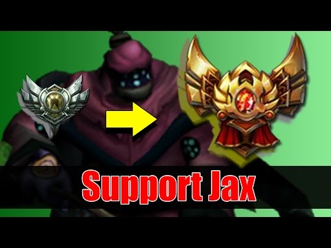 Jax Support Guide & How to get out of Silver to Gold
