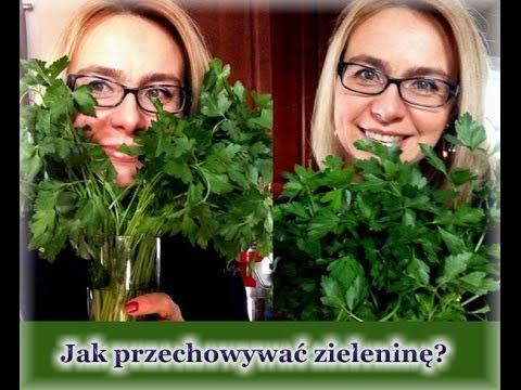 Jak Przechowywać Zieleninę Do Soków, Zielonych Koktajli I Sałatek:-) / Kierunek Zdrowie
