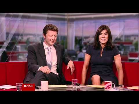 Susanna Reid - Upskirt White Knickers - 20-May-11