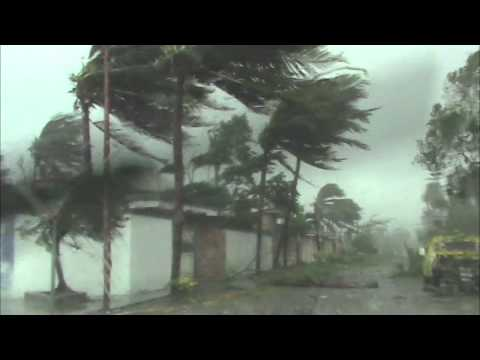 Huracan KARL Veracruz ANTES Y DESPUES