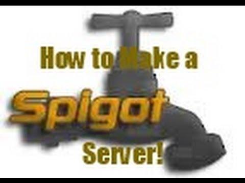 How to Make a Spigot Server (Mineshafter works too!) [1.6.4/1.5.2]