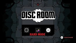 Disc Room - Hard mode golden + ending