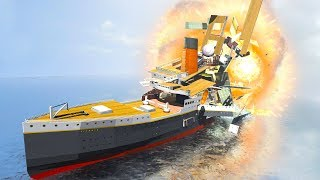 DESTROY THE TITANIC | Disassembly 3D
