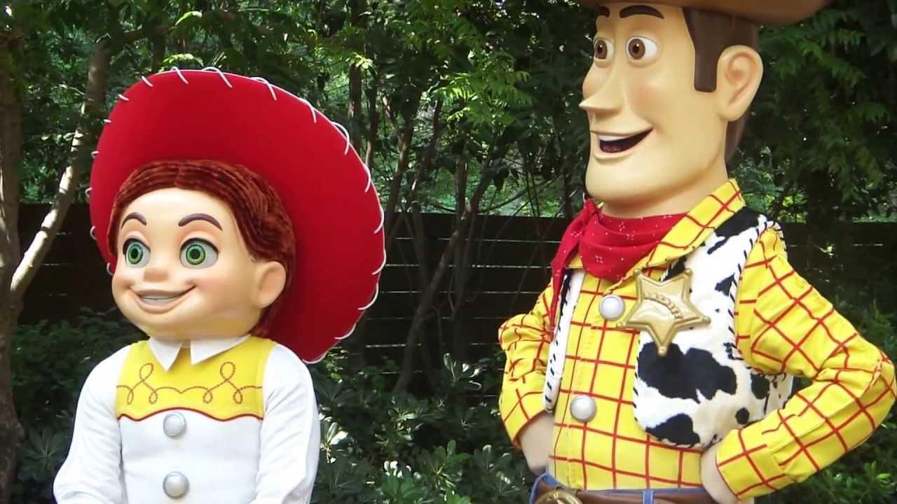 Woody And Jessie Costumes DISNEYLAND WOODY AND JESSIE