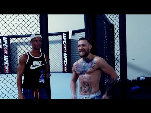 Cristiano Ronaldo meets MMA star Conor McGregor in Las Vegas (FULL VIDEO)