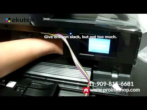 Hp Officejet Pro 8610 8620 8625 8630 Ciss Continuous