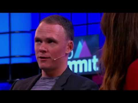 Chris Froome in conversation with Karen Tso