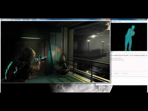 Jugando Dead Space 2 con Kinect