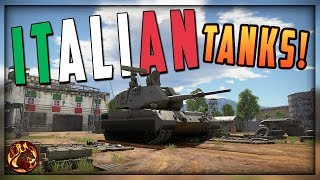 WT || 1.85 Dev Server - Part 2 - Italian Tanks