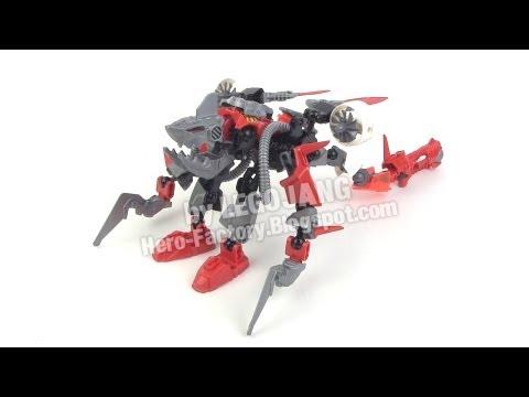 Hero Factory Breakout wave 1 combiner 2: Furno + Jawblade
