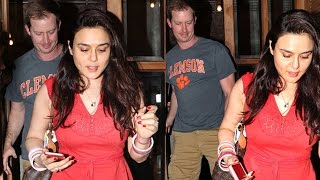 Preity Zinta's DINNER DATE With Husband Gene Goodenough - Watch Video