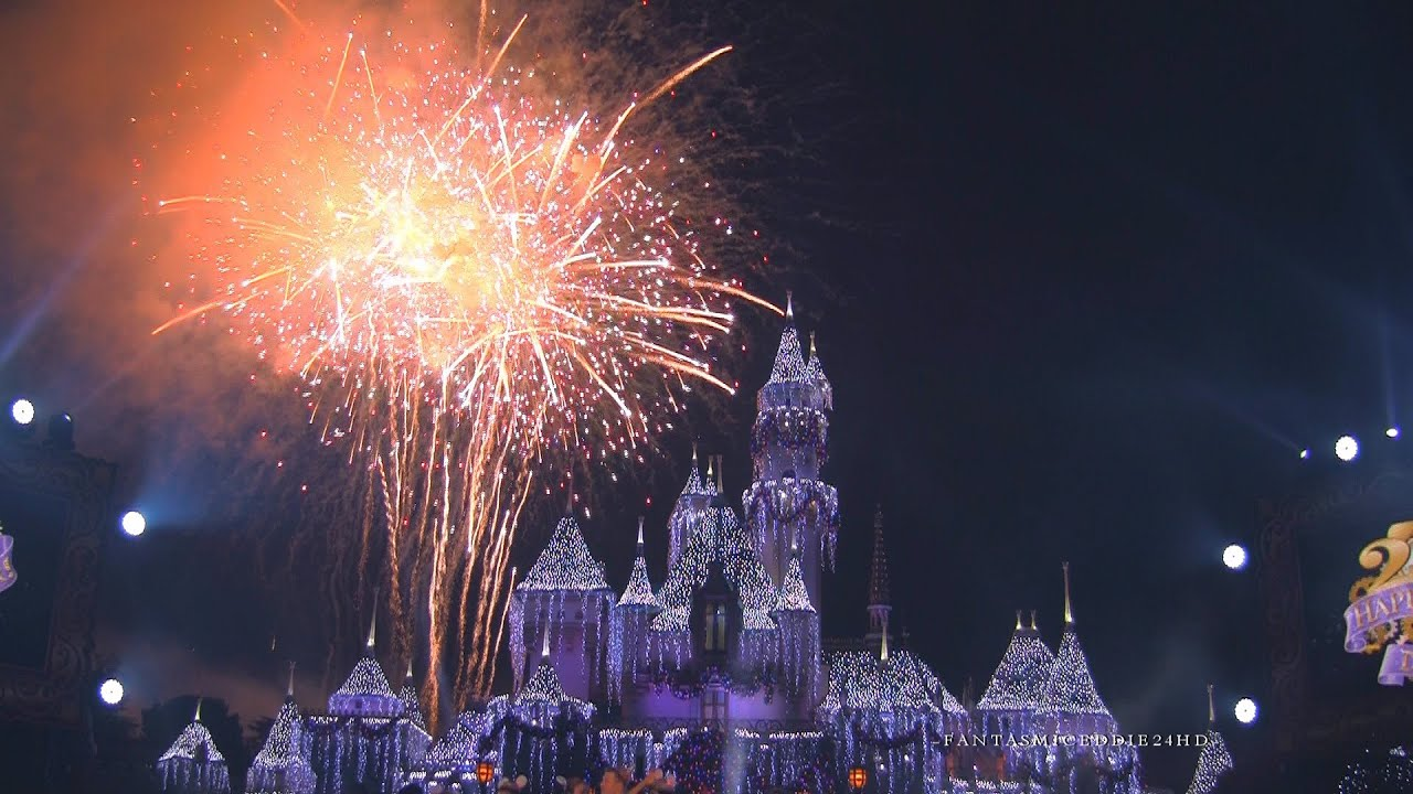 Disneyland New Years Eve