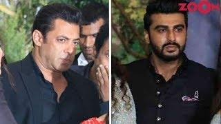 Salman Khan And Arjun Kapoor Still Sharing Cold Vibes?   Bollywood News
