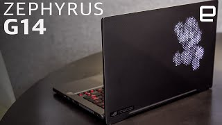 ASUS ROG Zephyrus G14 hands-on: Ryzen power in a light-up laptop