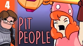 Let's Play Pit People Co-op Part 4 - Tome Raider