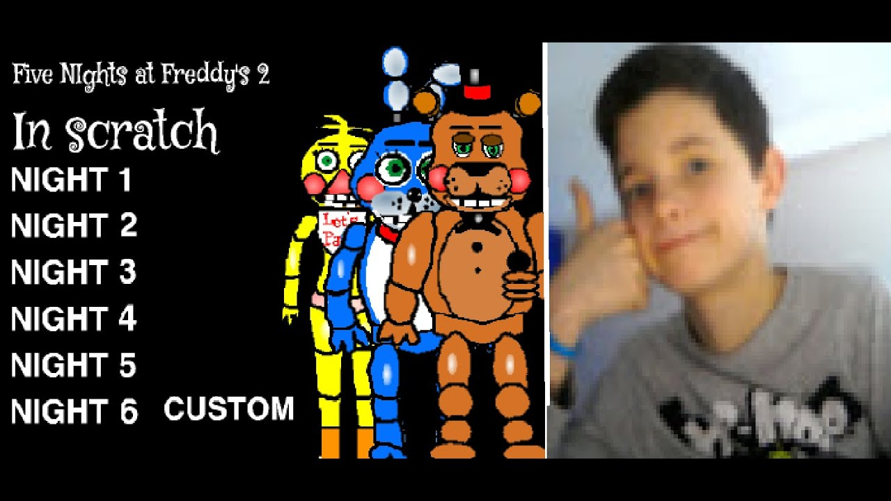 Fnaf 3 fan made game on scratch night 2 pt 2 youtube