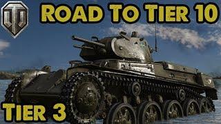 "Swedish Heavies - Tier 3 ""Strv m/40L"" - Road To Tier 10 - WoT Console"