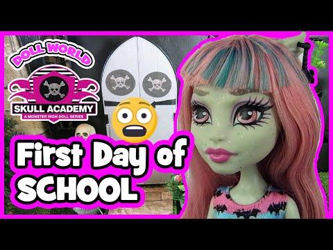 Monster High Doll Series Skull Academy s01 ep01 #monsterhigh