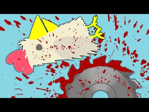 BRUTAL CHICKEN MURDER!? (Ultimate Chicken Horse)