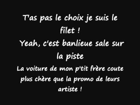 La fouine - Veni Vidi Vici - Paroles