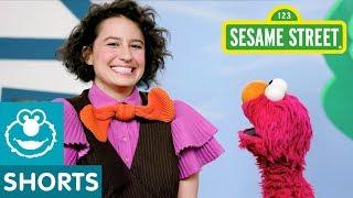 Sesame Street: Ilana Glazer's Joke | #ShareTheLaughter Challenge