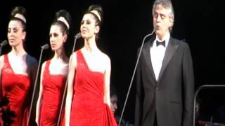 1. Andrea Bocelli - Con te Partiro (Live, Armenia, Yerevan 22.04.2012)