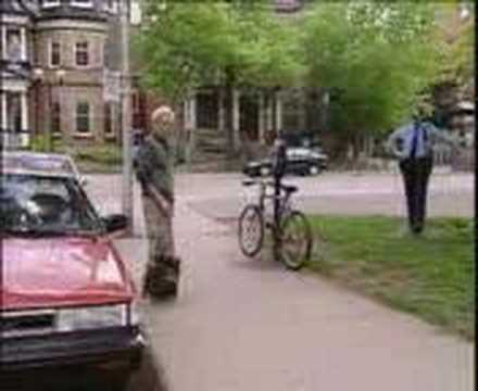 Just for Laughs-Red Car&Police!