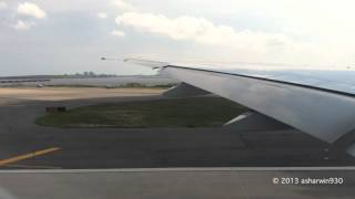 Cathay Pacific Boeing 777-367/ER Takeoff New York-JFK (CX831)
