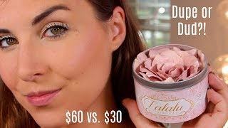 Dupe or Dud: $60 vs $22.50 Flower Highlighter! | Bailey B.