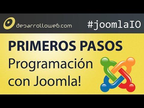 Introducci�n a la programaci�n para Joomla!: primeros pasos #joomlaIO