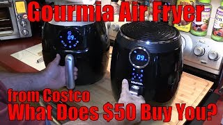 Gourmia Air Fryer Unboxing - What Does $50 Buy You? French Fries Part 1