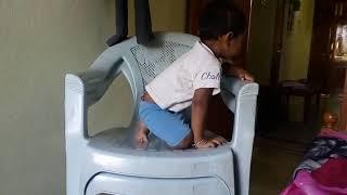 Naughty kid