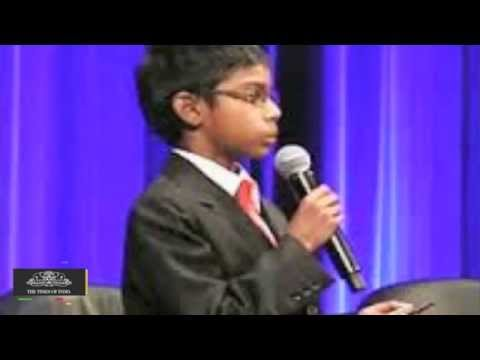 8 year old Indian Origin CEO to Give Lecture at Cybersecurity...