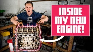 Here's What My New K20 Engine Looks Like Inside