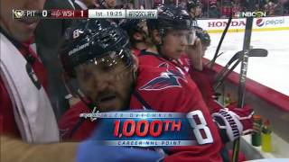 Gotta See It: Ovechkin scores 35 seconds into game for 1000th NHL point