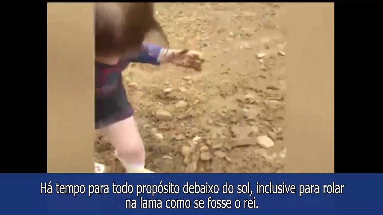 Rolar na lama: Há tempo para todo propósito debaixo do sol!