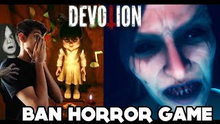 YE GAME BAN KYU  HUI THI AB PATTA CHALLA 😱😱😨 || Devotion Horror  #2 || Funny android hindi game