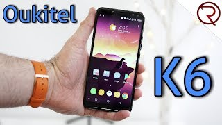 Oukitel K6 Smartphone REVIEW - 6300mAh, NFC, 18:9 Screen