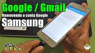 Removendo Conta Google de Samsung G530, G531, J5, J7