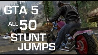 GTA 5 Guide: All 50 Stunt Jumps