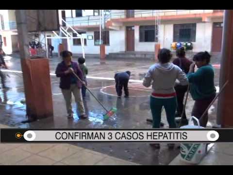 29/08/2014- 13:31 CONFIRMAN 3 CASOS HEPATITIS