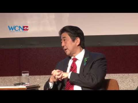 WCN-tv.com World News; Shinzo Abe Japan Summit 日本語、ENG