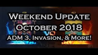 Iron Throne Weekend Update - ADM Tournament 3, Top Kingdoms Invasion, and More - October 18, 2018