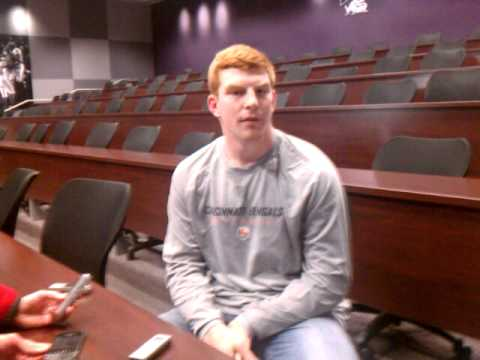 SportDFW: Cincinnati Bengal's Andy Dalton Interview