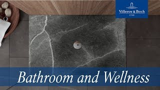 ViPrint shower trays – Inspired by Nature | Villeroy & Boch