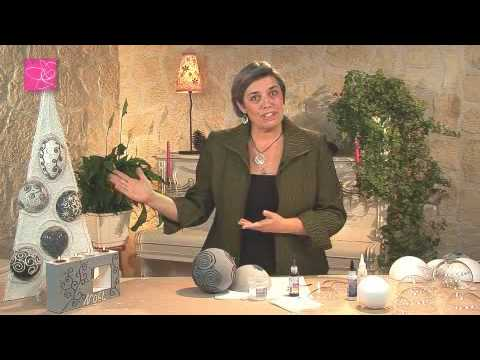 Cr er des boules de no l youtube - Boule de noel plastique a decorer ...