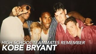 Kobe Bryant's high school teammates reflect on NBA star off the court