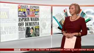 MARTINE CROXALL:-: BBC News at Nine - 29 Nov 2013 -